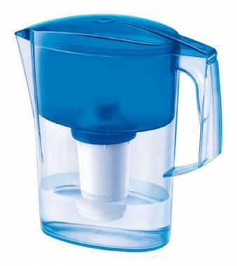 Кувшин Аквафор Ультра синий, объем 2.5л., очистка воды одноступенчатая
