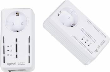 Сетевой адаптер HomePlug AV Upvel UA-252PSK RJ-45