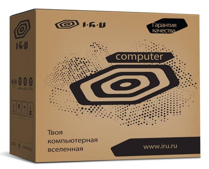 Системный блок IRU Corp 320 черный - фото 5