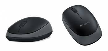 Мышь Logitech M165 черный / серый