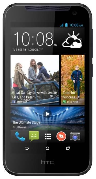 Смартфон HTC Desire 310 Dual Sim синий - фото 1