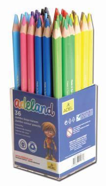 Карандаши цветные ADEL ADELAND Jumbo