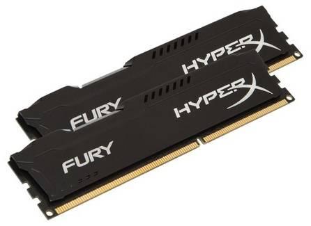 Модуль памяти DIMM DDR3 2x8Gb Kingston HX318C10FBK2/16 - фото 1