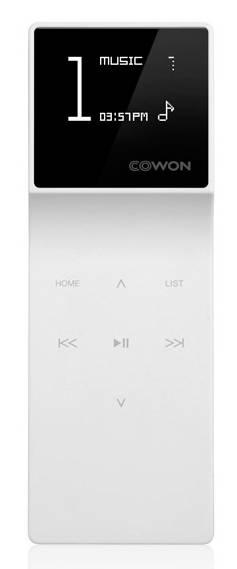 mp3-плеер 16Gb Cowon Iaudio E3 белый - фото 1