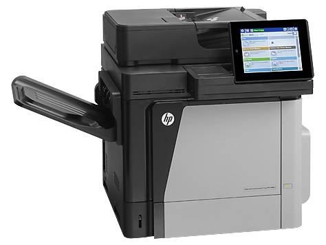 МФУ HP Color LaserJet Enterprise Flow M680dn серый/черный - фото 1