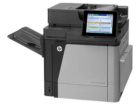 МФУ лазерный HP Color LaserJet Enterprise Flow M680dn, цветной, максимальный формат A4, скорость печати А4 монохромная до 42стр/мин, цветная до 42стр/мин, печать Duplex, Net-сервер (CZ248A) - фото 2