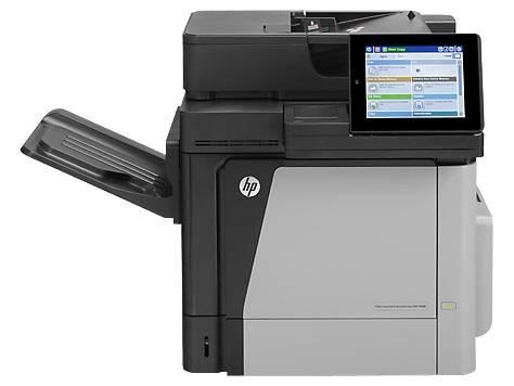 МФУ HP Color LaserJet Enterprise Flow M680dn серый/черный - фото 3