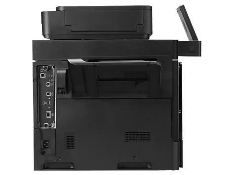 МФУ HP Color LaserJet Enterprise Flow M680dn серый/черный - фото 4