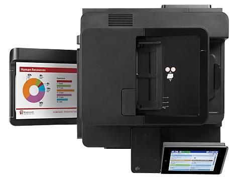 МФУ лазерный HP Color LaserJet Enterprise Flow M680dn, цветной, максимальный формат A4, скорость печати А4 монохромная до 42стр/мин, цветная до 42стр/мин, печать Duplex, Net-сервер (CZ248A) - фото 5