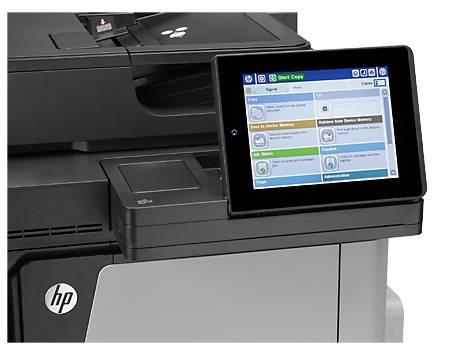 МФУ HP Color LaserJet Enterprise Flow M680dn серый/черный - фото 6