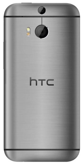 Смартфон HTC One M8 16Гб серебристый - фото 2