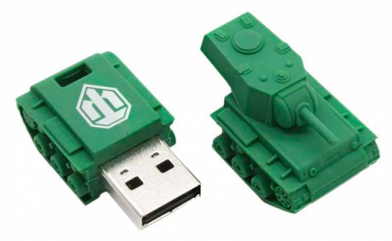 Флеш диск Kingston WOT KV-1 32ГБ USB2.0 зеленый - фото 2