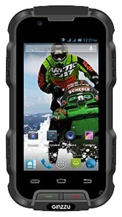 Смартфон Ginzzu RS9 Dual черный - фото 1
