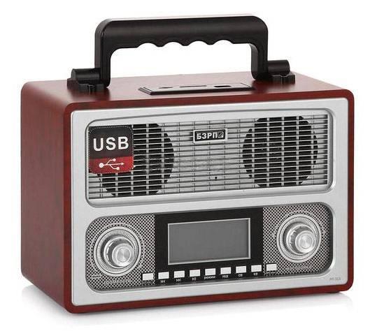 Радиоприемник Сигнал БЗРП РП-311 коричневый - фото 1