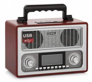 Радиоприемник Сигнал БЗРП РП-311 коричневый (11508)
