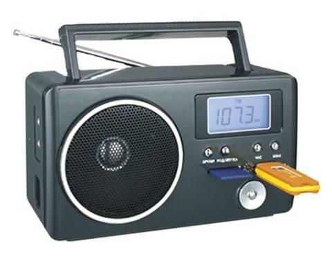 Радиоприемник Сигнал БЗРП РП-204 черный - фото 1