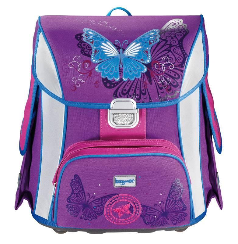 Ранец Step By Step BaggyMax Simy Butterfly фиолетовый/рисунок (00129296) - фото 1