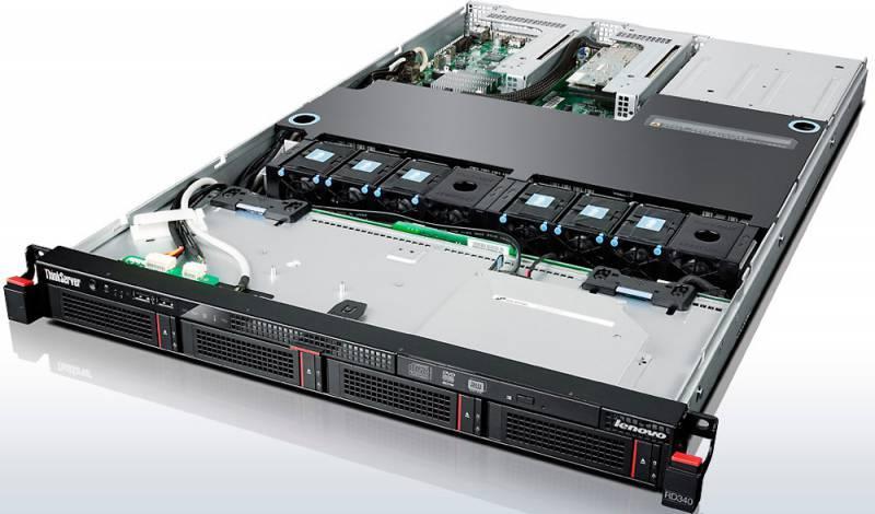 Сервер Lenovo ThinkServer RD340 - фото 3