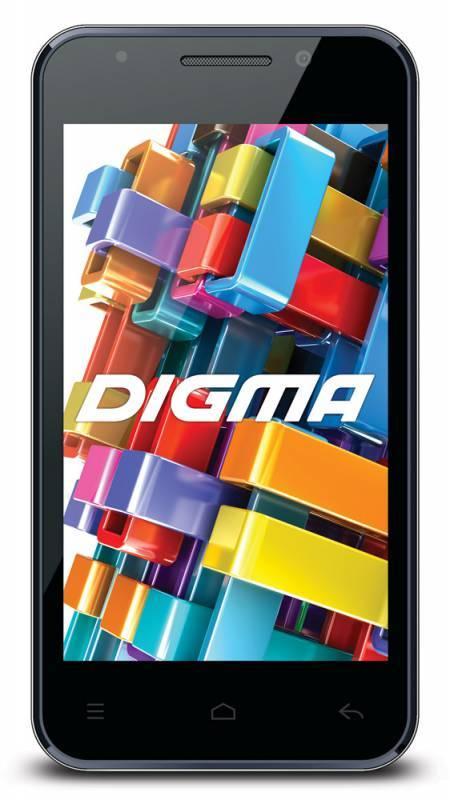 Смартфон Digma Optima 4.01 TT4001MG 4ГБ черный - фото 1