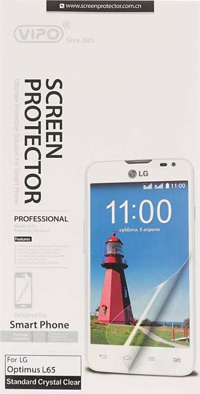 Защитная пленка Vipo для LG Optimus L65 (D285) прозрачная - фото 1