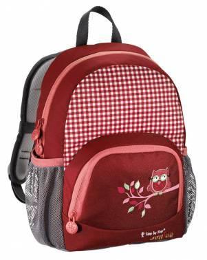 Рюкзак детский Step By Step Junior Dressy Cute owl красный/розовый (00129054)