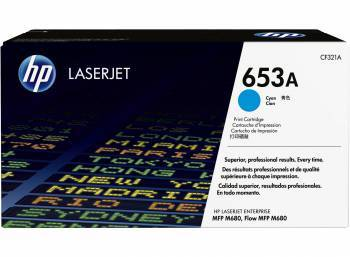 Картридж HP 653A голубой (CF321A)