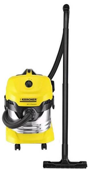 Пылесос Karcher WD4 Premium желтый/черный (13481500) - фото 2