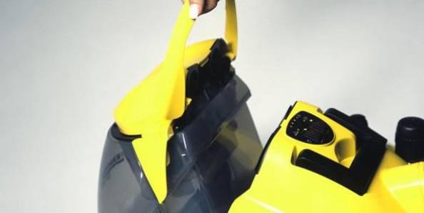 Паровой пылесос Karcher SV 1802 желтый/черный - фото 4