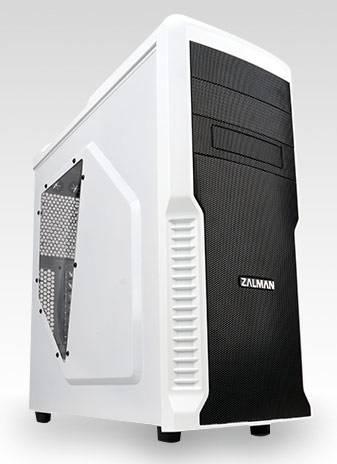 Корпус ATX Zalman Z3 PLUS белый (Z3 PLUS White) - фото 1