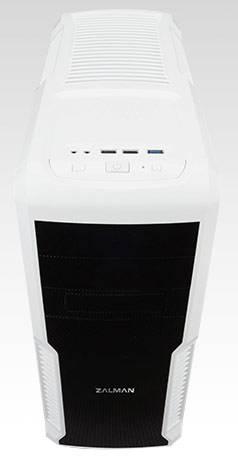 Корпус ATX Zalman Z3 PLUS белый (Z3 PLUS White) - фото 3