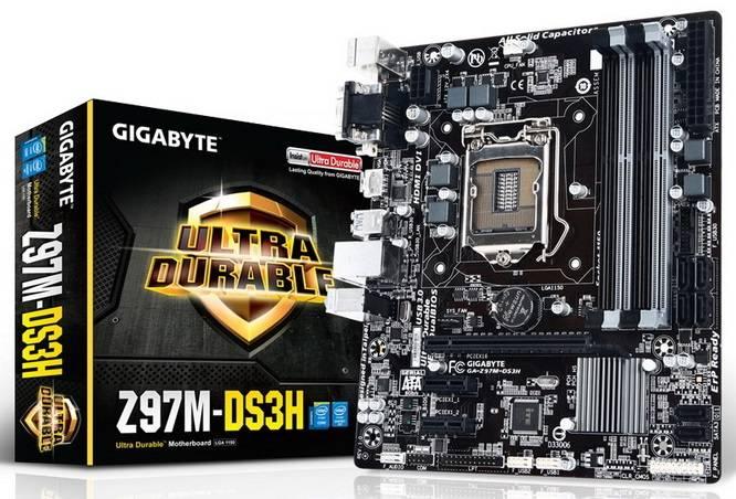 Материнская плата Soc-1150 Gigabyte GA-Z97M-DS3H mATX - фото 4