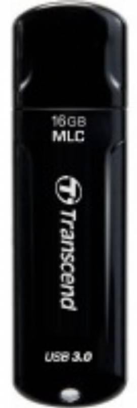 Флеш диск Transcend Jetflash 750 16ГБ USB3.0 черный - фото 1