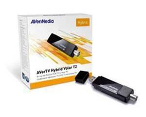 Тюнер-ТВ/FM USB Avermedia AVerTV Hybrid Volar T2 H831 (AVERTV HYBRID VOLAR T2) - фото 2