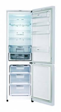 Холодильник LG GA-B489TGRF красный / стекло
