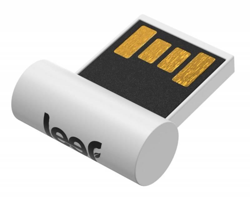 Флеш диск Leef Surge 32ГБ USB2.0 белый - фото 1