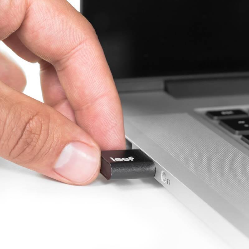 Флеш диск Leef Fuse 64ГБ USB2.0 черный - фото 2