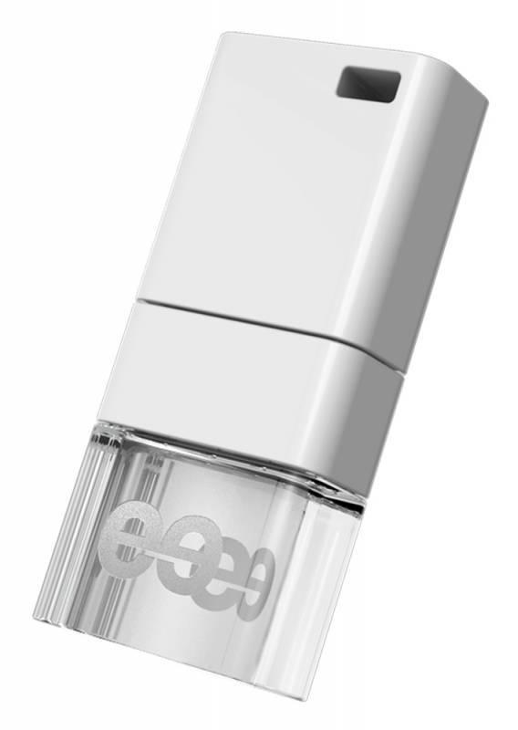Флеш диск Leef Ice 16ГБ USB2.0 белый - фото 1