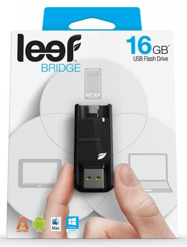 Флеш диск Leef Bridge 16ГБ USB2.0 черный - фото 6