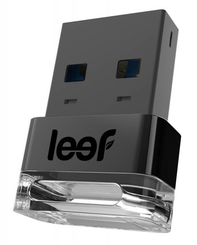 Флеш диск Leef Supra 16ГБ USB3.0 темно-серый - фото 1