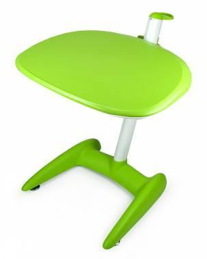 Стол для ноутбука Бюрократ LT-009 зеленый / белый
