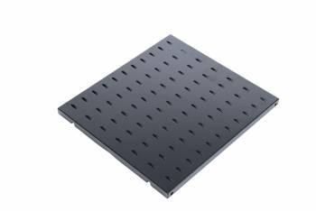 Полка ЦМО СВ-62-9005 перфорированная глубина 620 мм цвет черный до 45 кг