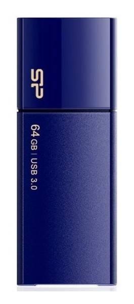 Флешка Silicon Power Blaze B05 64ГБ USB3.0 синий (SP064GBUF3B05V1D) - фото 1