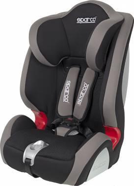 Автокресло детское Sparco F 1000 K черный / серый