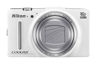 Фотоаппарат Nikon CoolPix S9700 белый - фото 2