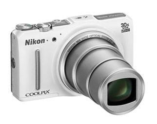 Фотоаппарат Nikon CoolPix S9700 белый - фото 5
