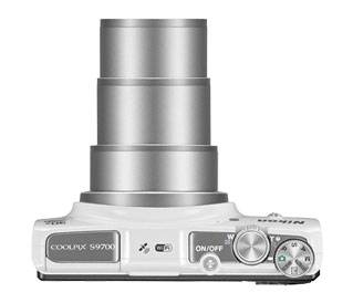 Фотоаппарат Nikon CoolPix S9700 белый - фото 9