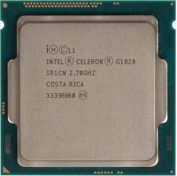 Процессор Intel Celeron Dual-Core G1820 Socket-1150 OEM (CM8064601483405S R1CN)