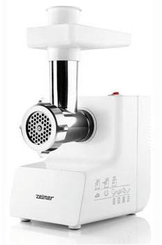Мясорубка Zelmer ZMM0805WRU белый