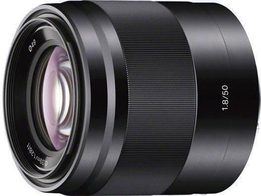 Объектив Sony SEL 50mm f/1.8 (SEL50F18B.AE) - фото 1