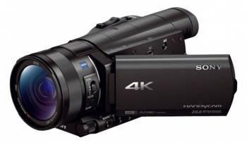 Видеокамера Sony FDR-AX100 черный